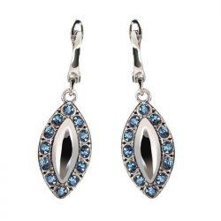 Kolczyki srebrne z kryształami Swarovski K 1826
