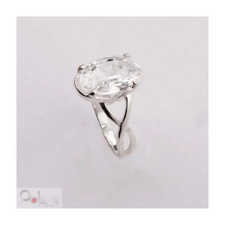 Srebrny pierścionek z cyrkonią PK 378