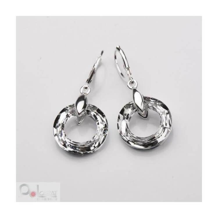 Kolczyki srebrne Swarovski K3 1502