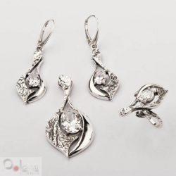 Bransoletka srebrna z cyrkoniami L 1621