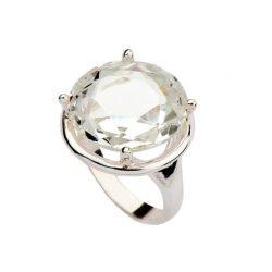 Srebrny pierścionek z cyrkoniami PK 932
