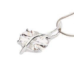 Wisiorek srebro cyrkonia 1638 Biały