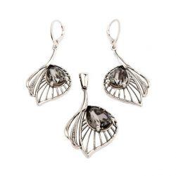 Kolczyki srebrne z kryształami Swarovskiego K 1644