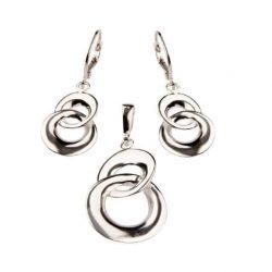 Biżuteria srebrna komplet KPL 1658