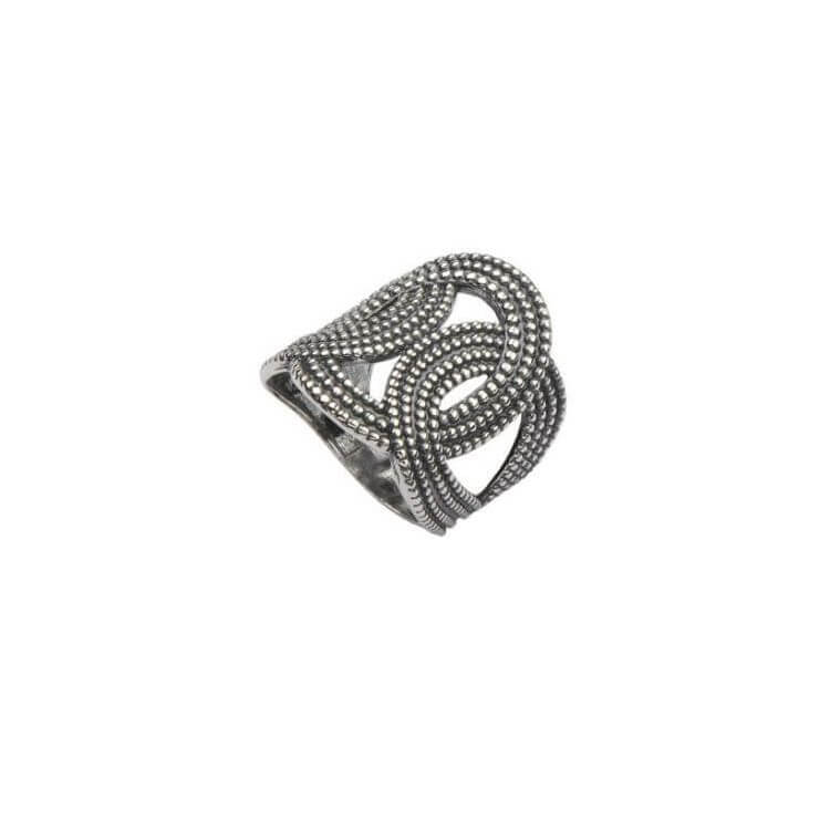 Pierścionek srebrny P 1691