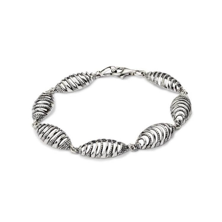Bransoletka srebrna L 1757