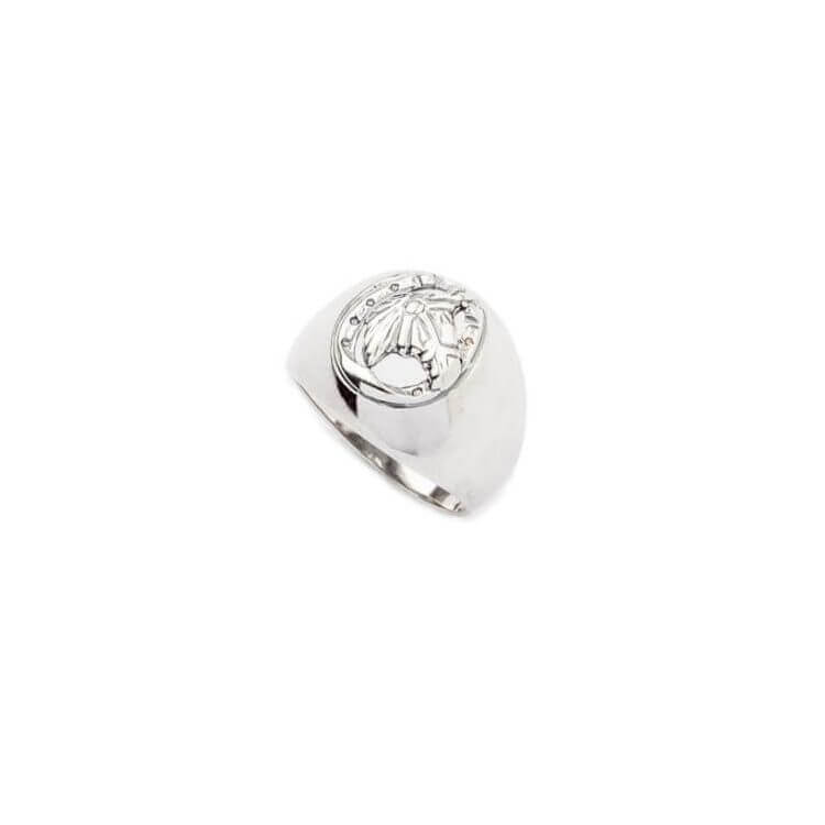 Pierścionek srebrny (sygnet) Koń PB 342