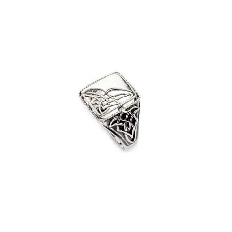 Pierścionek srebrny (sygnet) PB 346