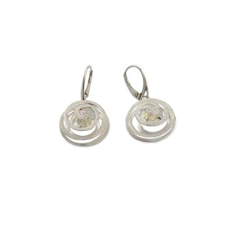 Kolczyki srebrne z kryształami Swarovskiego Crystal K1 1790