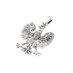 Wisiorek srebrny oksydowany Orzeł W 1656