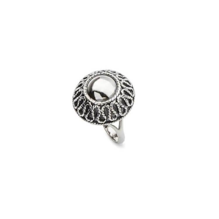 Pierścionek srebrny P 1825