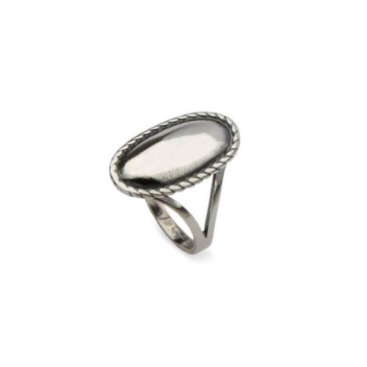 Pierścionek srebrny P 1820