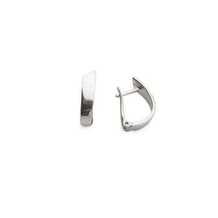 Rodowane srebrne kolczyki K3 1151