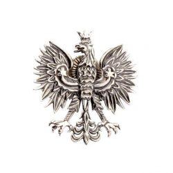 Przypinka srebrna Orzeł W3-2 1656