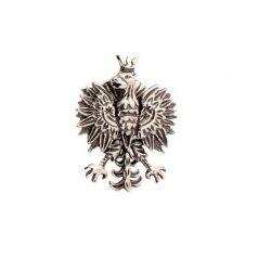 Przypinka srebrna Orzeł W3 1656