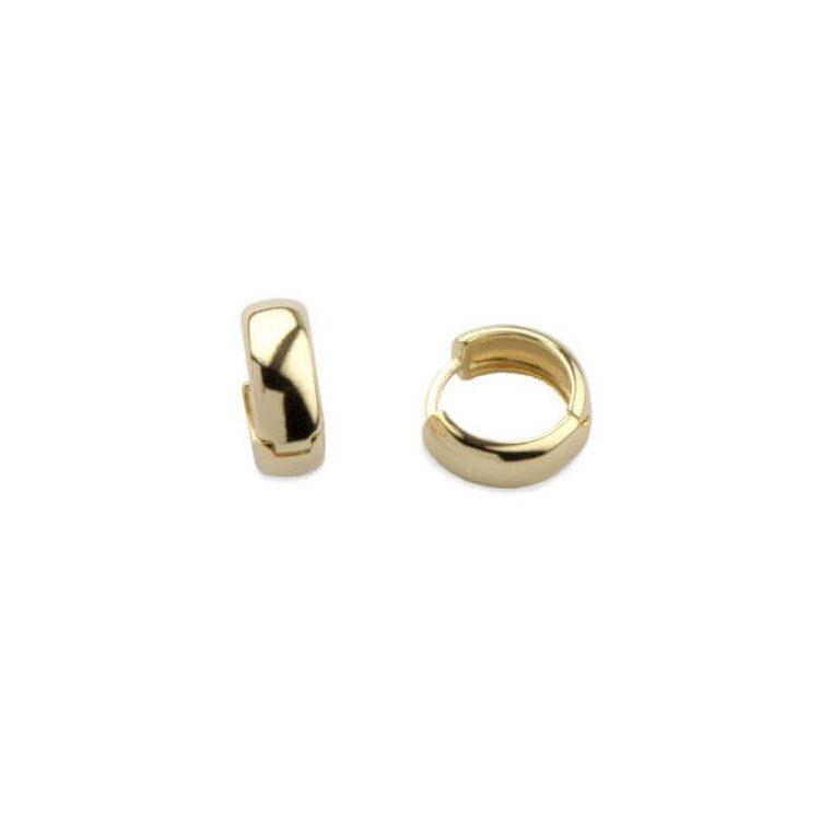 Pozłacane kolczyki srebrne K3 1146