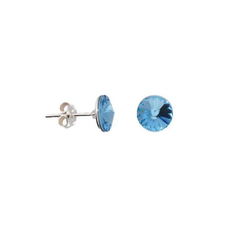 Kolczyki srebrne z kryształami Swarovskiego Crystal K2 1670