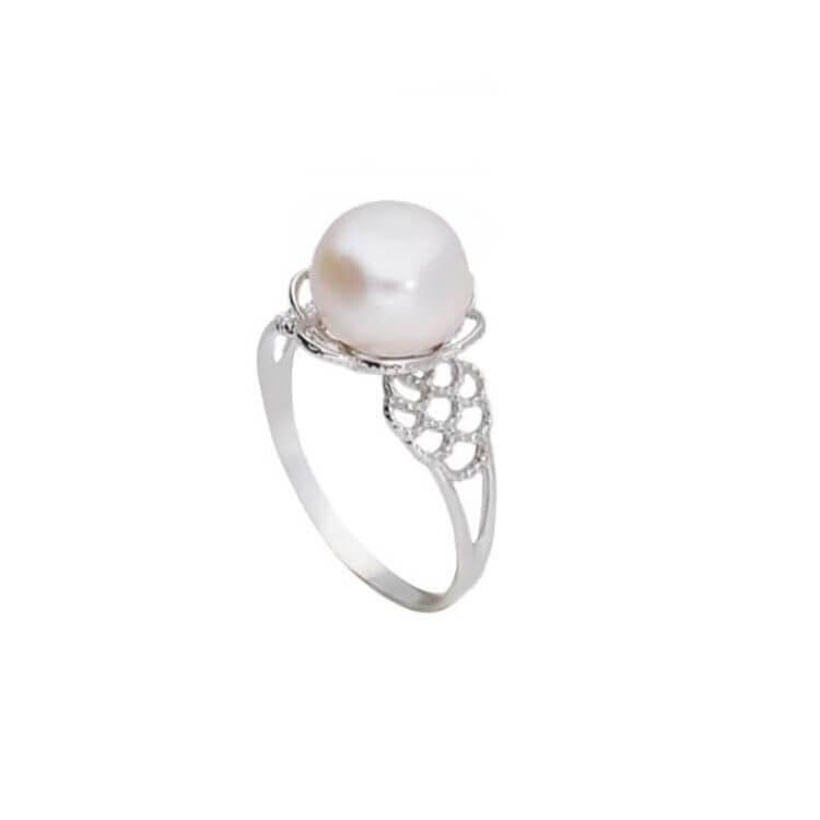 a24e9d86b7 Srebrny pierścionek z perłą PK 1842