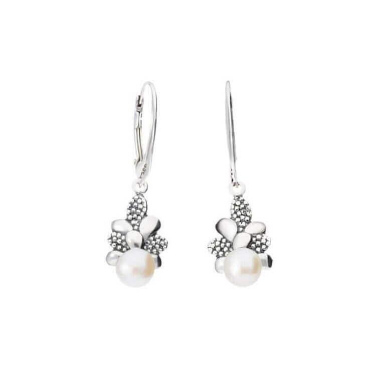 Kolczyki z perłami srebro K 2016