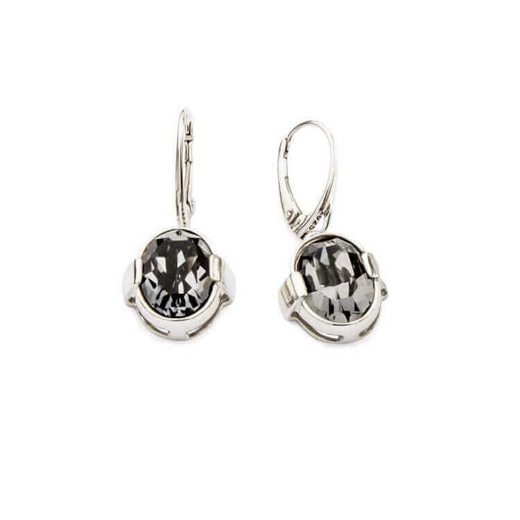 Kolczyki srebrne z kryształami Swarovskiego K 1789