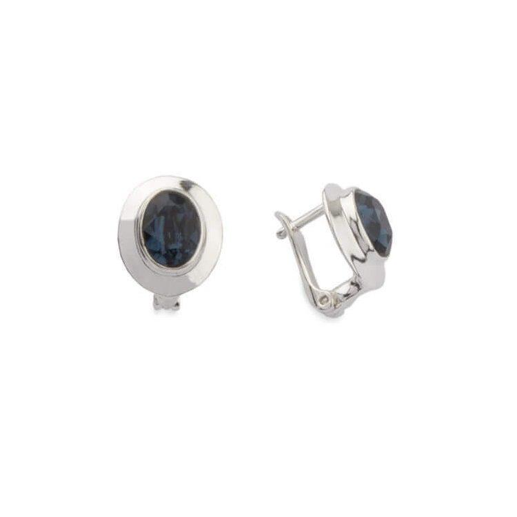 Kolczyki srebrne z kryształami Swarovskiego K3 1860