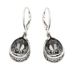 Kolczyki srebrne z kryształami Swarovskiego K 1595