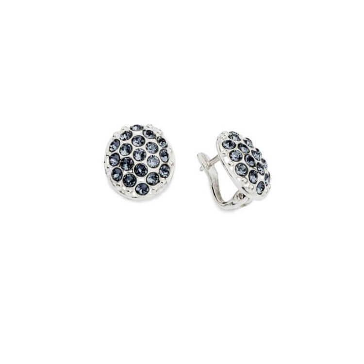 Kolczyki srebrne z kryształami Swarovskiego K3 1795