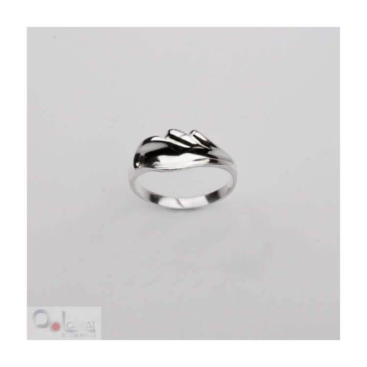 Srebro pierścionek P 113