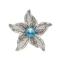 Broszka z kryształem Swarovski Kwiat B 170