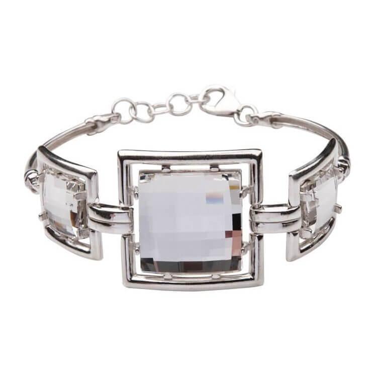 Bransoletka srebro Kryształy Swarovskiego R 987