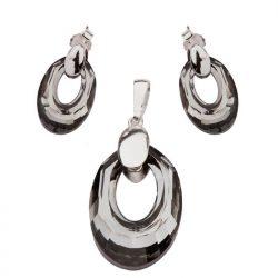 Kolczyki srebrne Swarovski K1 1533