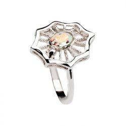 Pierścionek srebrny Swarovski PK 979 Crystal AB