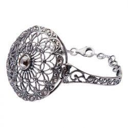 Srebrna bransoletka Swarovski R 1505