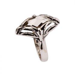 Pierścionek srebrny z kryształem Swarovskiego PK 972