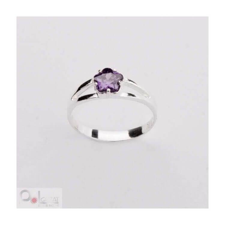 Srebro cyrkonia pierścionek PK 370