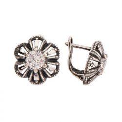 Kolczyki srebrne z cyrkoniami K 1615