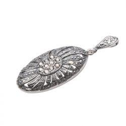 Wisiorek srebrny Swarovski W 1503