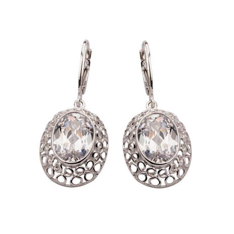 Kolczyki srebrne z cyrkoniami K 1519