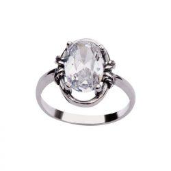 Srebro cyrkonie pierścionek PK 1577