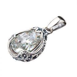 Wisiorek srebrny z cyrkonią W 2084