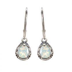Kolczyki srebrne z kryształami Swarovski K 2084
