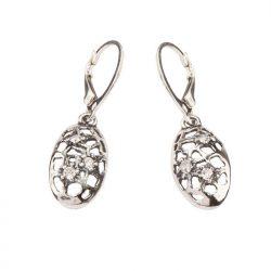 Biżuteria srebrna kolczyki z cyrkoniami K 1649