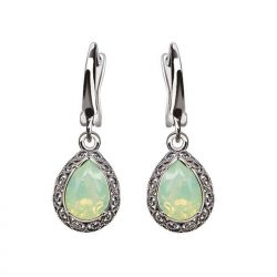 Kolczyki srebrne z kryształami Swarovski K 2087