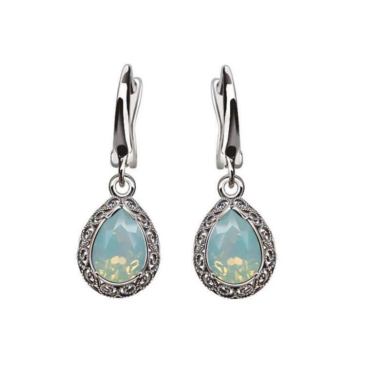 Kolczyki srebrne z kryształami Swarovski K2 2087