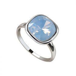 Pierścionek srebrny swarovski air blue 2092