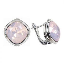Kolczyki rosa water opal 2092